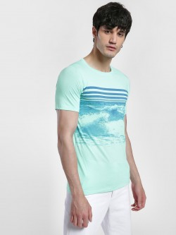 IMPACKT Sea Print Short Sleeve T-Shirt