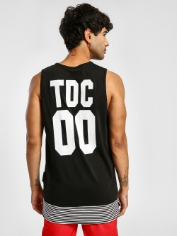 Tiktauli Logo Placement Print Longline Vest