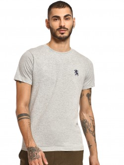Giordano Embroidered Logo Crew Neck T-Shirt