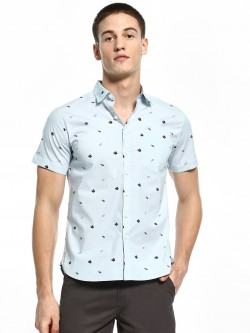 Kenneth Cole Flip Flop Print Shirt