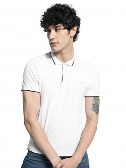 Kenneth Cole Welt Pocket Polo Shirt