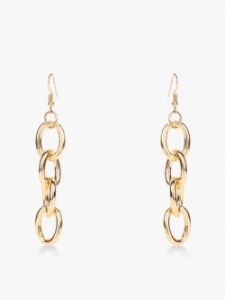 Style Fiesta Chain Detail Earrings