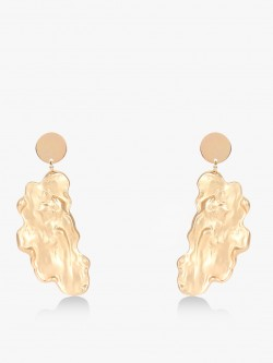 Style Fiesta Lady Encrusted Abstract Earrings