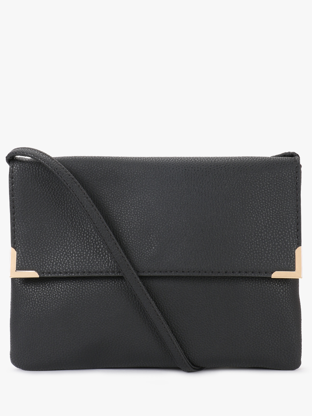 New Look Black Basic Sling Bag 1