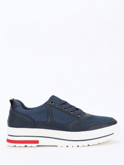 KOOVS Mesh Panelled Casual Shoes