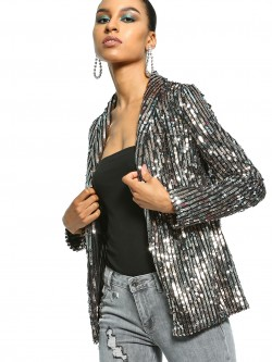 FP & CO All Over Sequin Blazer