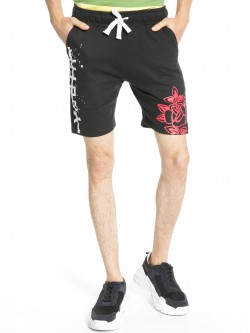 Fighting Fame Youth Rose Print Shorts
