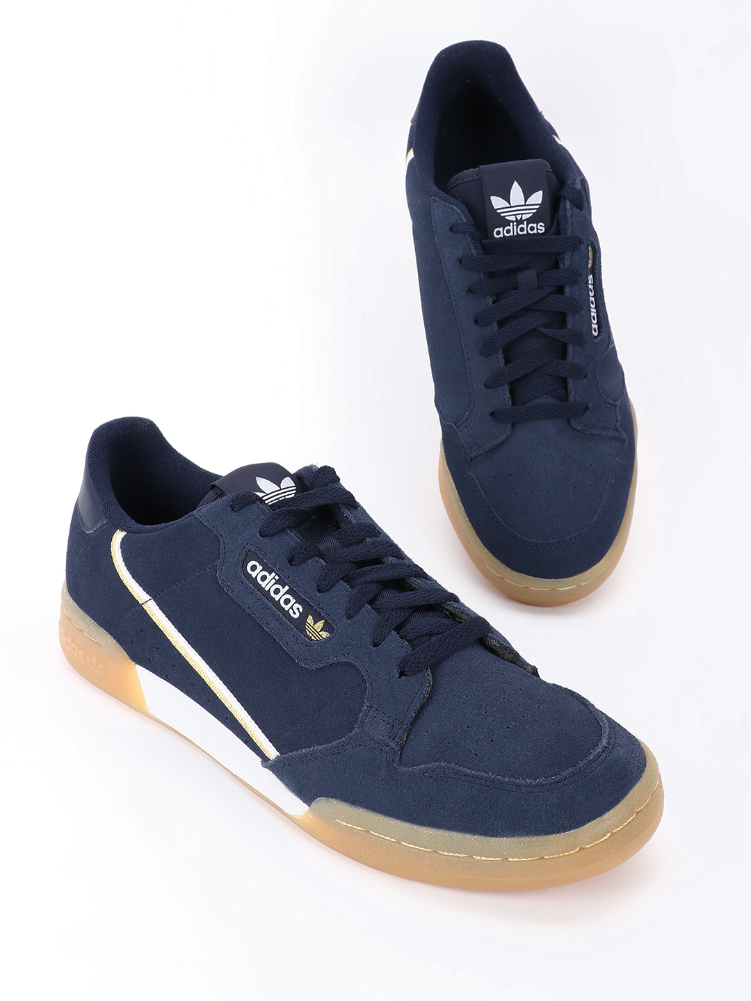 Adidas Originals Blue Continental 80 Shoes 1