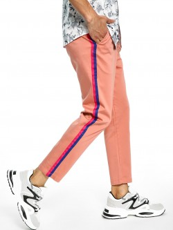 Spring Break Contrast Side Tape Trousers