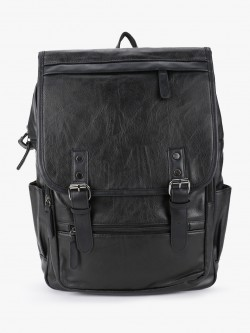 KOOVS PU Oversized Backpack