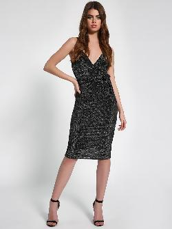 KOOVS Strappy Midi Dress