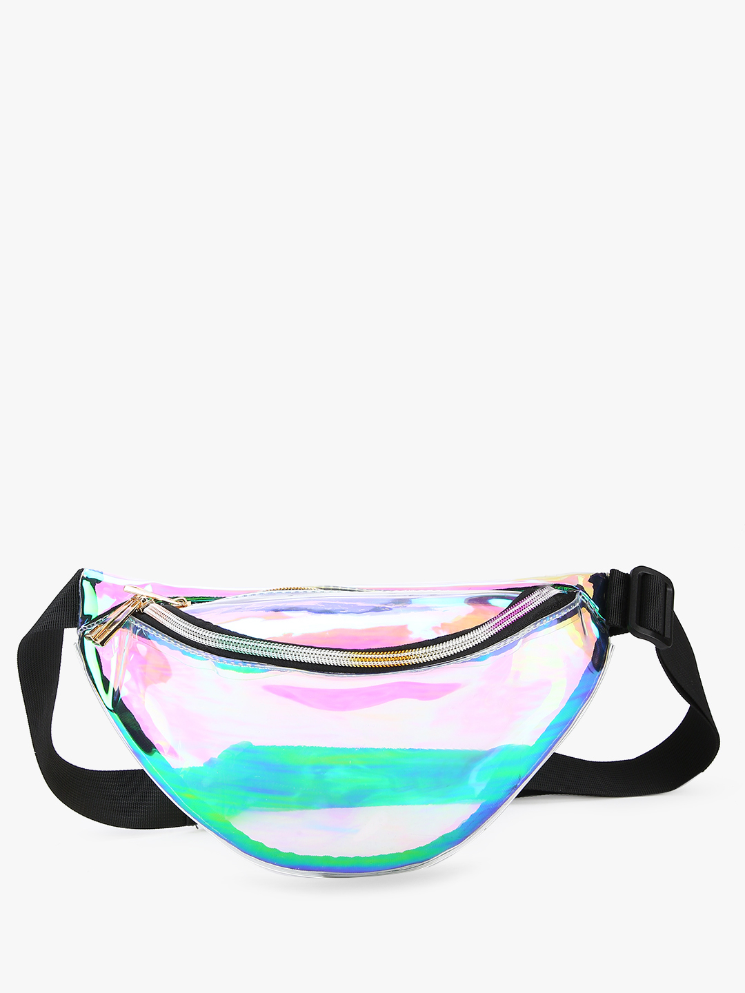 EmmaCloth Multi Holographic Clear Bum Bag 1