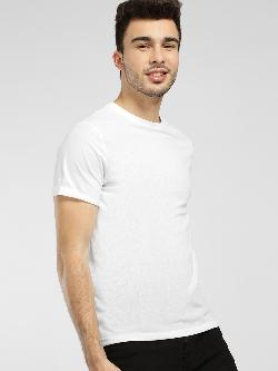 KOOVS Basic Crew Neck T-Shirt
