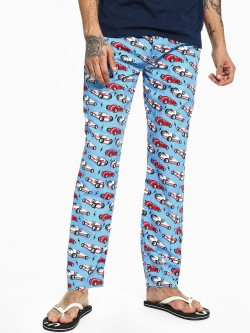 Jack & Jones Vintage Car Print Lounge Pants