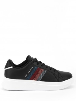 Peak Multi Colour Knitted Panel Sneakers