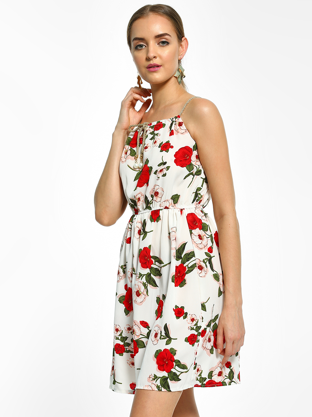 EmmaCloth Multi Floral Print Shift Dress 1