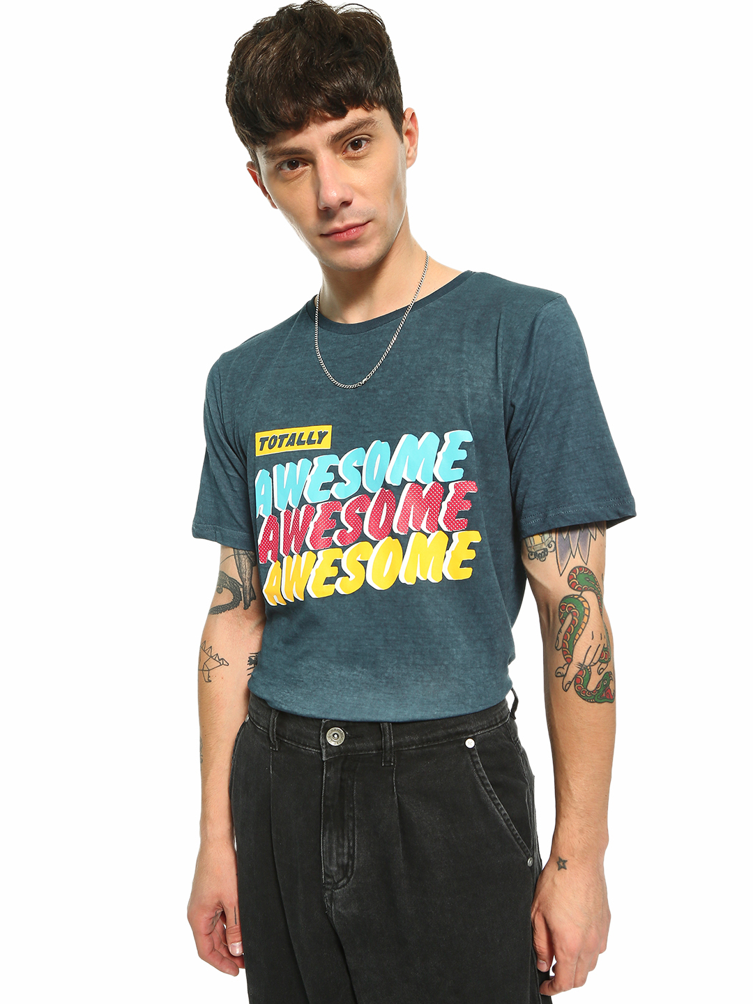 Adamo London Multi Totally Awesome Pop Print T-Shirt 1