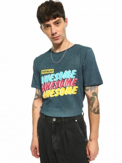 Adamo London Totally Awesome Pop Print T-Shirt