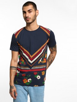 Adamo London Bandana Print T-Shirt