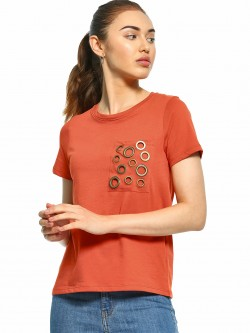 UMM Eyelet Patch Pocket T-Shirt
