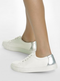 ADORLY Metallic Panel Sneakers