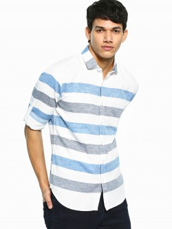 Vulcan Horizontal Stripe Long Sleeve Shirt