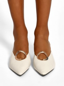 Sole Story Metal Detail Heeled Mules