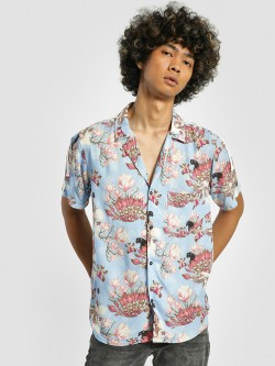 Shivan & Narresh X KOOVS Magnolia Flower Print Cuban Shirt