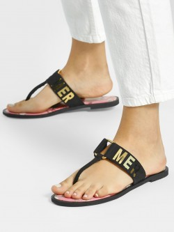 Shivan & Narresh X KOOVS Magnolia Flower Summer Flat Sandals