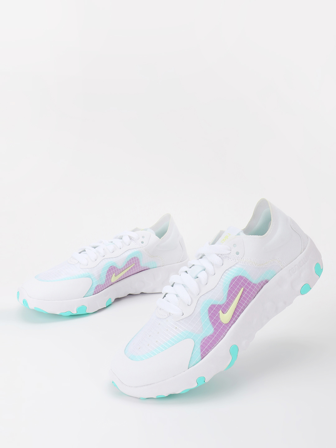 Nike White Renew Lucent Trainers 1