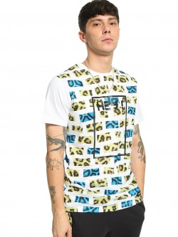 Fighting Fame Leopard Print Block T-Shirt