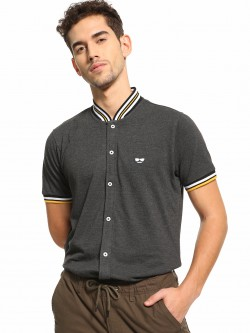 Garcon Baseball Collar Pique Shirt