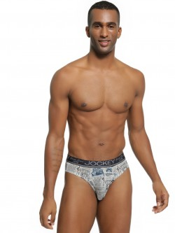 Jockey All Over Vintage Print Brief