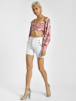 Shivan & Narresh X KOOVS Magnolia Flower Pocket Shorts