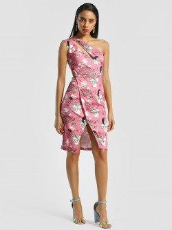 Shivan & Narresh X KOOVS Cut-Out One Shoulder Bodycon Dress