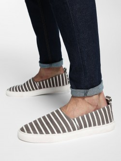 Bolt Of The Good Stuff Stripe Print Espadrilles