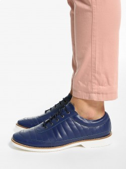 Bolt Of The Good Stuff Stitched Stripe Lace-Up Shoes