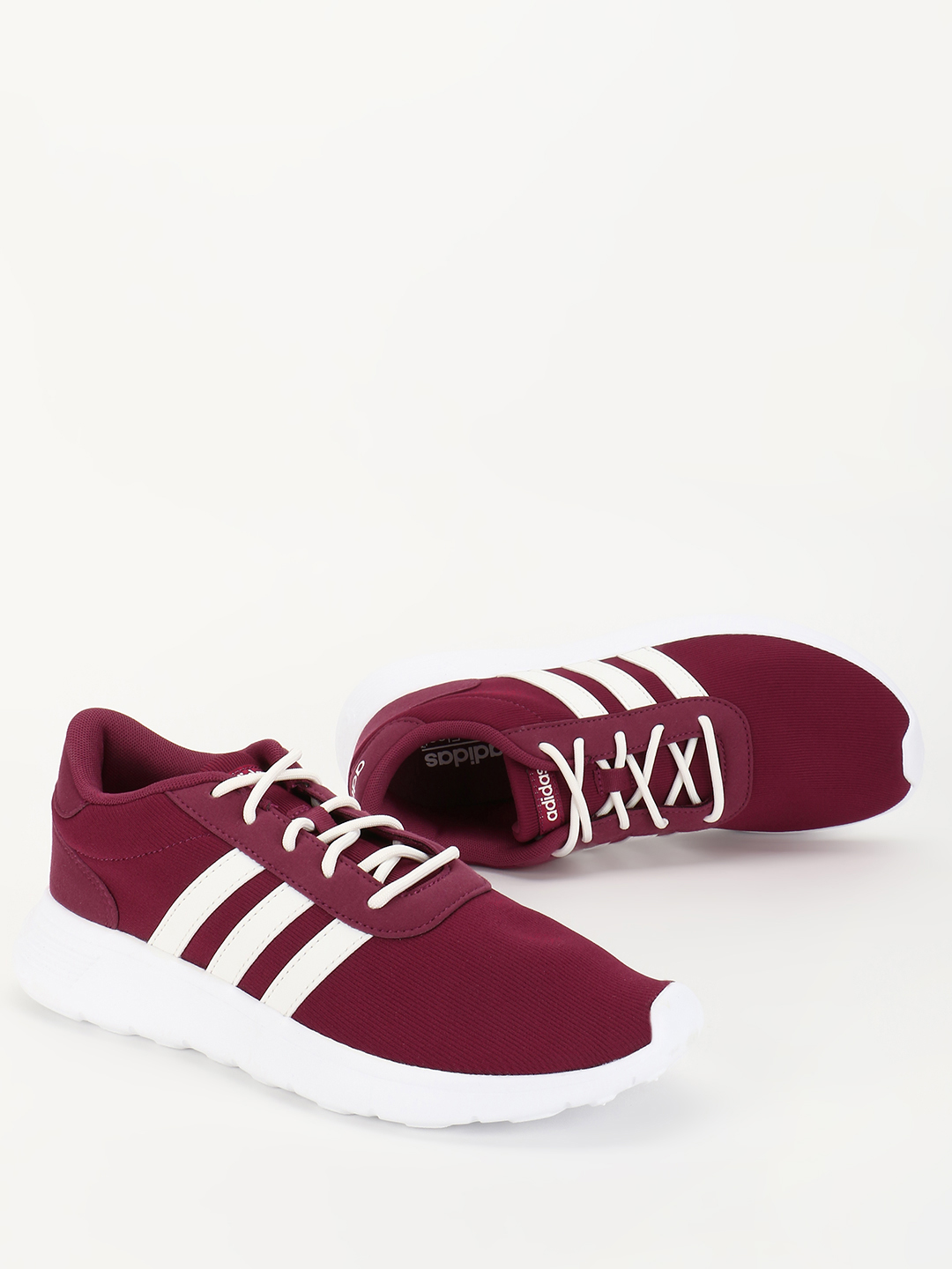 Adidas Pink Lite Racer Shoes 1