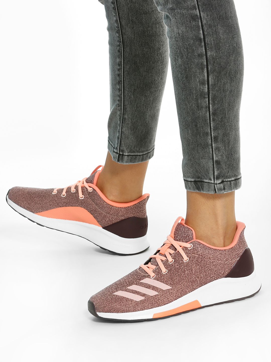 Adidas Pink Puremotion Shoes 1
