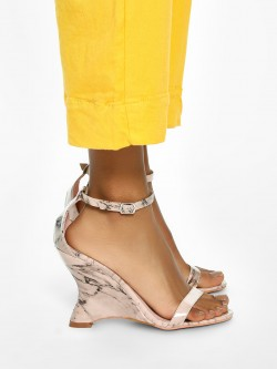 Intoto Marble Effect Curved Sole Wedges