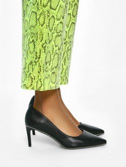 Intoto Studded Sole Carved Out Pumps