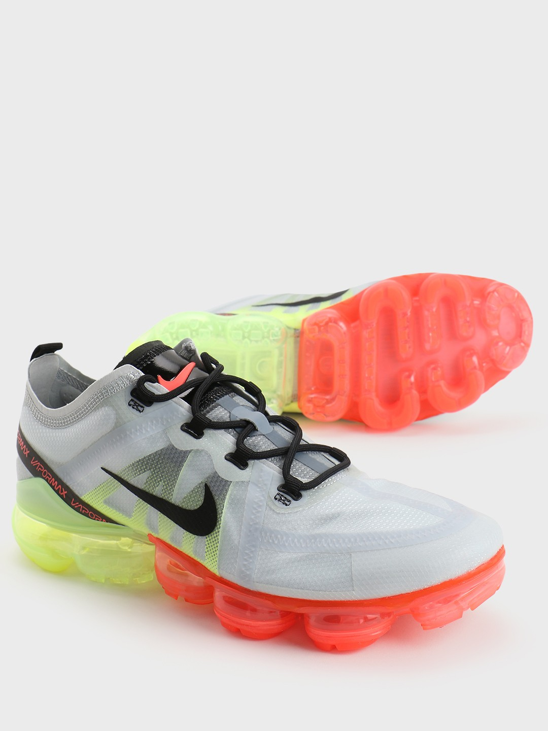 Nike Grey Air Vapormax 2019 Running Shoes 1