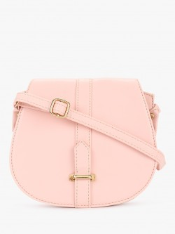 Paris Belle Buckle Detail Sling Bag
