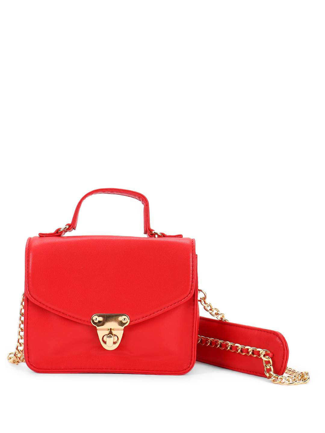 Paris Belle Red Chain Strap Sling Bag 1