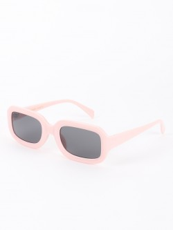 Sneak-a-Peek Thick Elliptical Retro Sunglasses