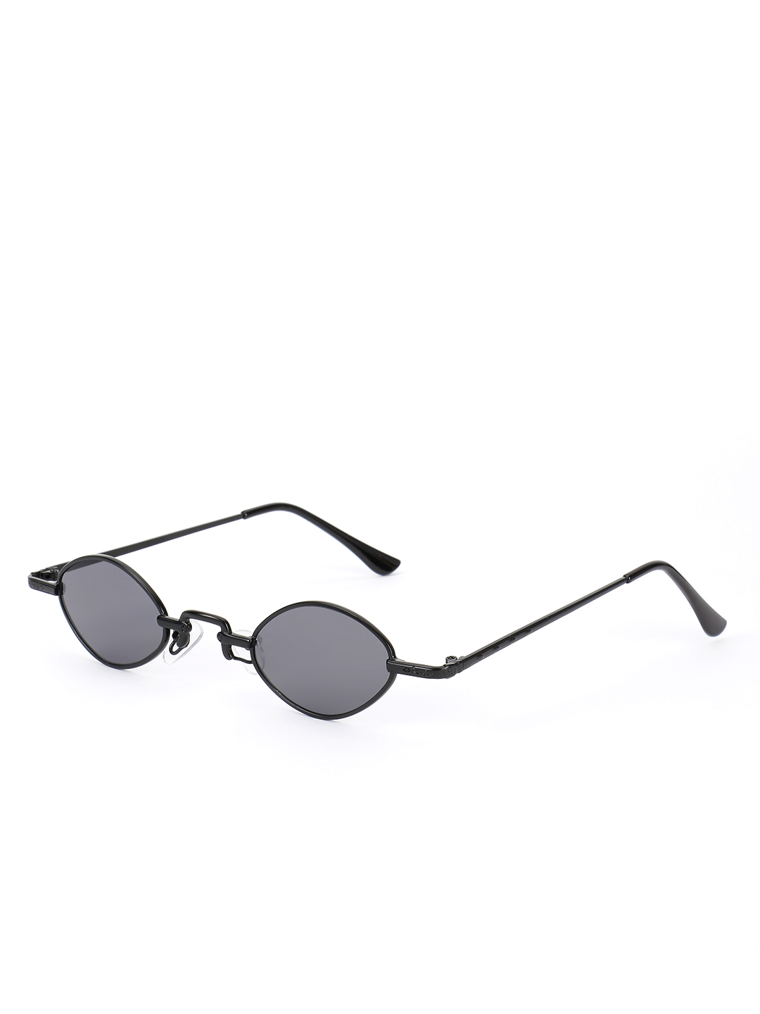 Sneak-a-Peek Black Micro Coloured Retro Sunglasses 1