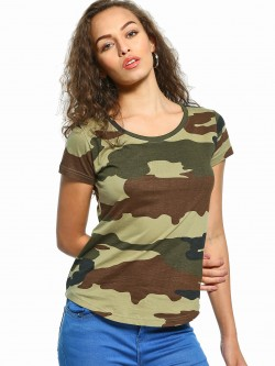 The Dry State Camo Print T-Shirt