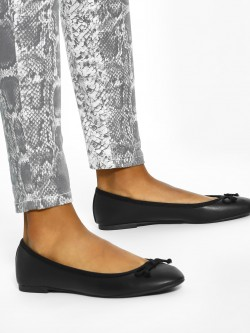 New Look Bow Detail Ballerinas