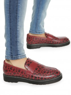 KOOVS All Over Print Loafers