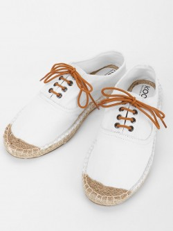 KOOVS Lace Up Espadrille Casual Shoes